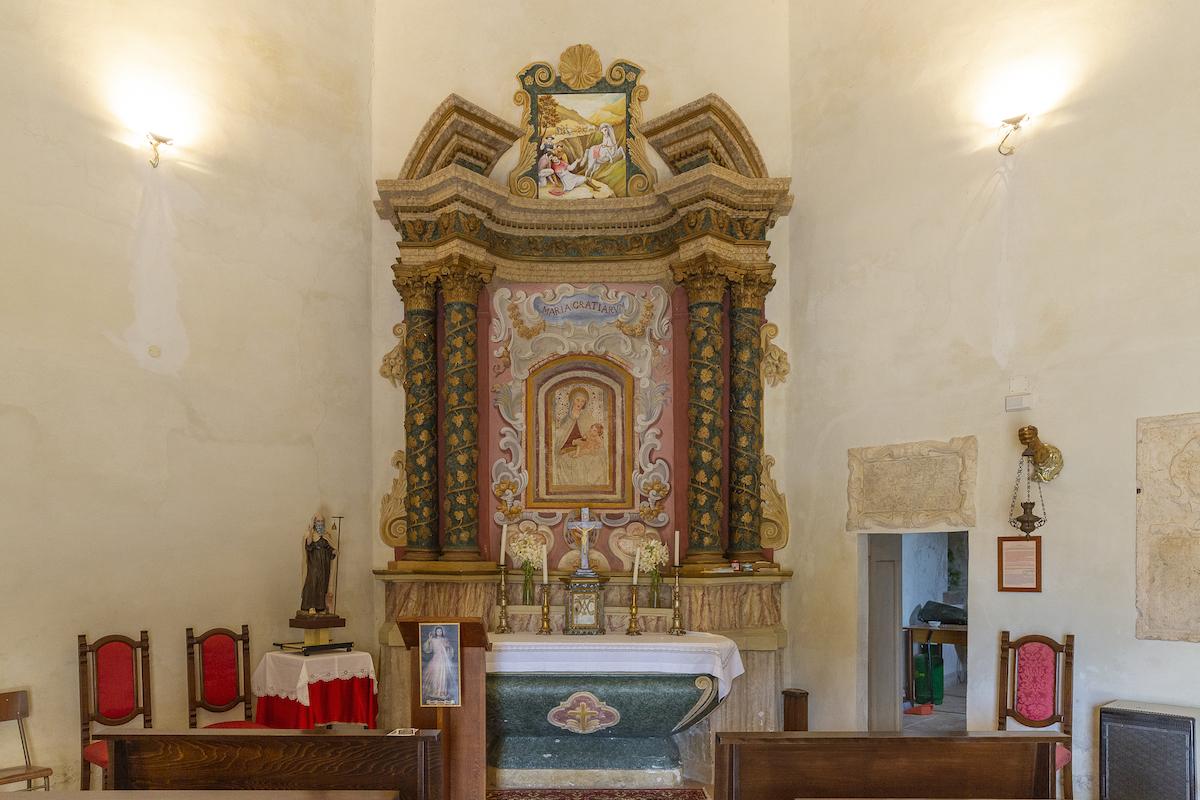 Venarotta Turismo   Chiesa ottagonale di Santa Maria delle Grazie.
